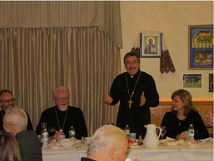 His Eminence Metropolitan Antony + Fr. Krekhovetsky + Pani Dobrodiyka Oksana