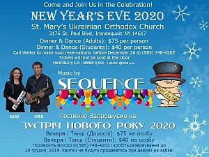 New Year's Eve 2020 December 31, 2019