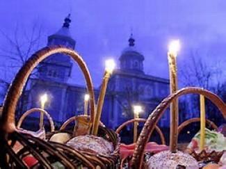 Sunrise Blessing of Easter Baskets